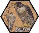 Cl: Peregrine Falcon (Falco peregrinus)(Repeat for this country)  SG 1143f (2004)  [3/55]